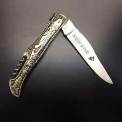 Votre couteau gravé