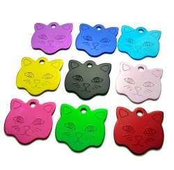 Médailles chat